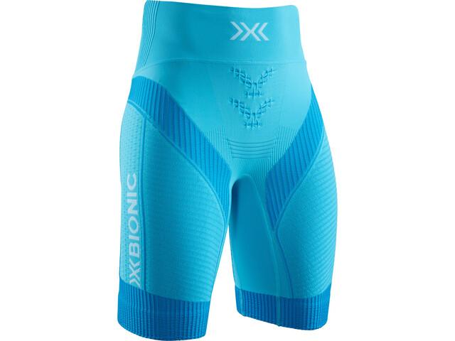 X-Bionic Effektor G2 Spodenki do biegania Kobiety turkusowy